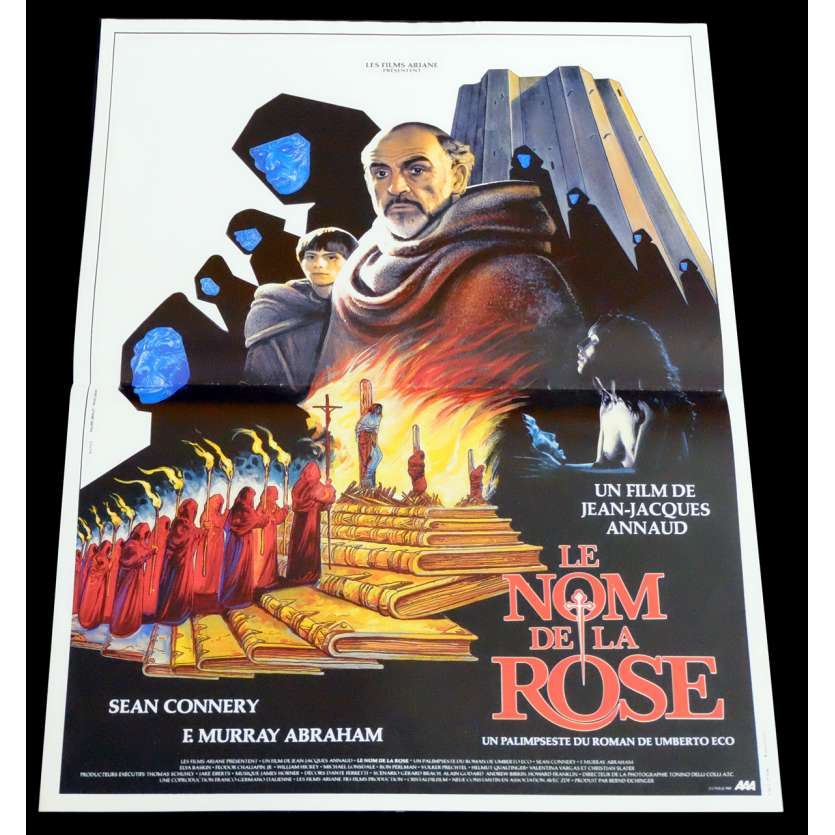 NAME OF THE ROSE French Movie Poster 15x21 - 1986 - Jean-Jacques Annaud, Sean Connery