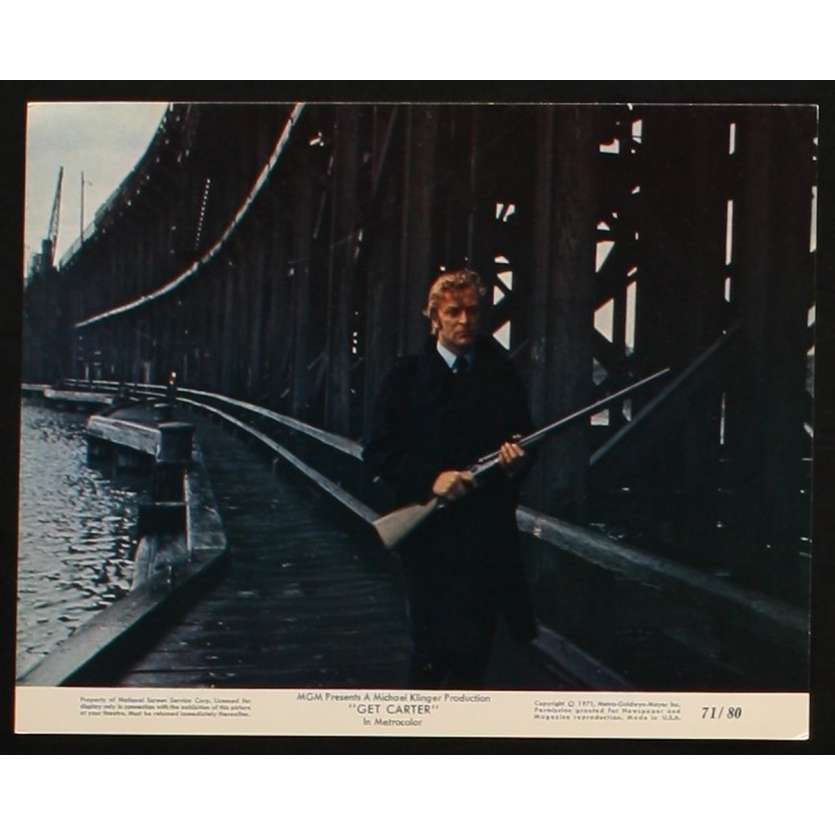 GET CARTER US Movie Still 3 8x10 - 1971 - Paul Hodges, Michael Caine