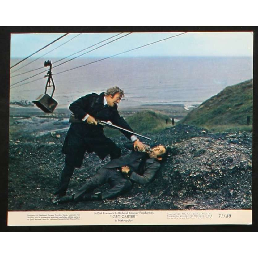 GET CARTER US Movie Still 1 8x10 - 1971 - Paul Hodges, Michael Caine