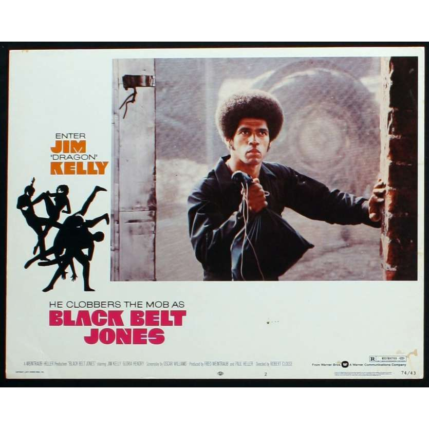 LA CEINTURE NOIRE Photo de film 3 28x36 - 1974 - Jim Kelly, Robert Clouse