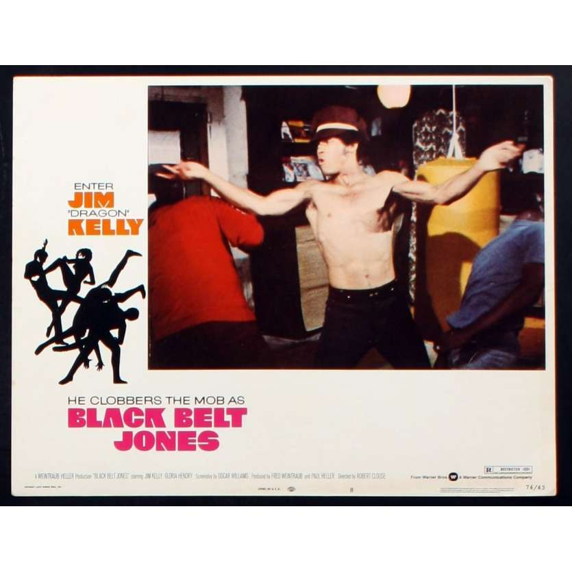 LA CEINTURE NOIRE Photo de film 2 28x36 - 1974 - Jim Kelly, Robert Clouse