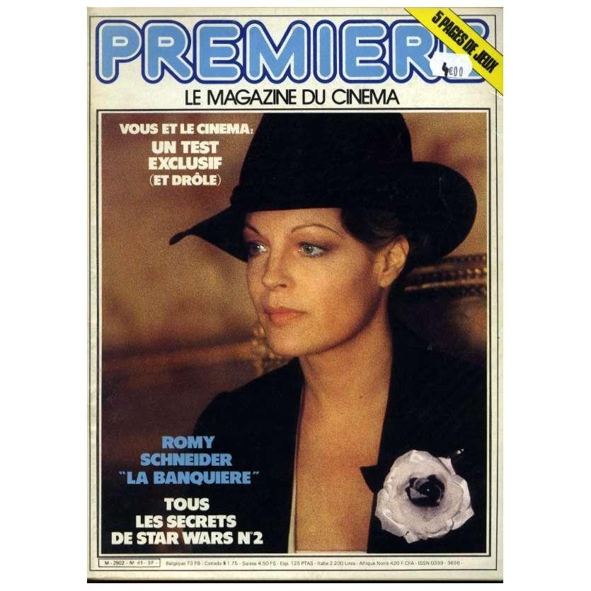 PREMIERE N°41 Magazine - 1981 - Romy Schneider
