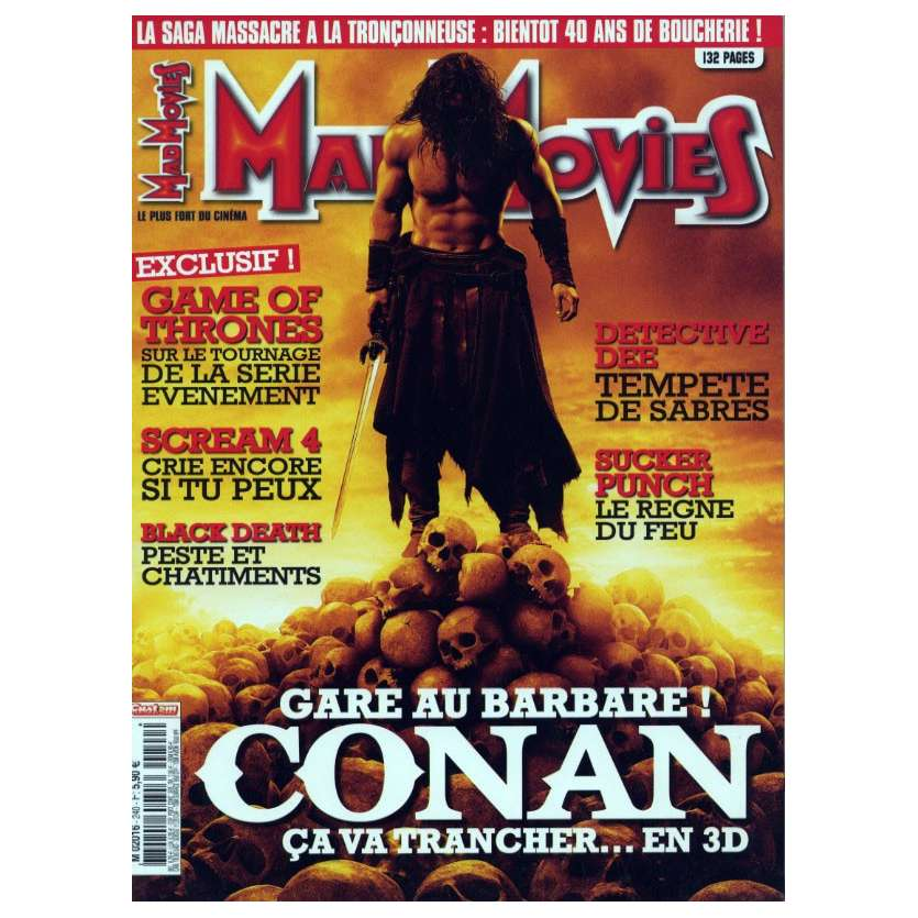 MAD MOVIES N°240 Magazine - 2011 - Conan