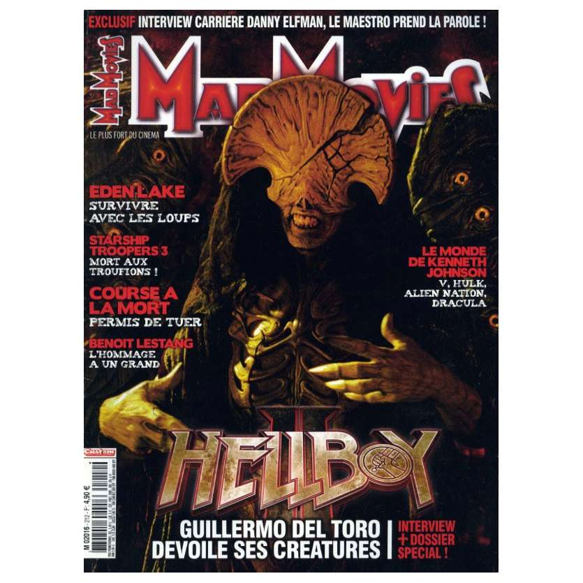 MAD MOVIES N°212 Magazine - 2008 - Hellboy