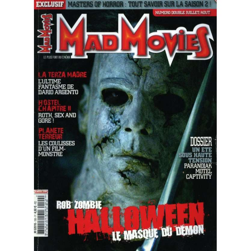 MAD MOVIES N°199 Magazine - 2007 - Halloween