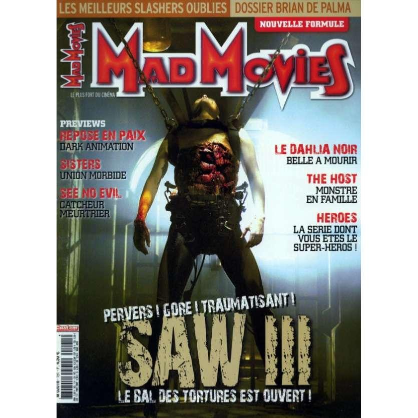 MAD MOVIES N°191 Magazine - 2006 - Saw III
