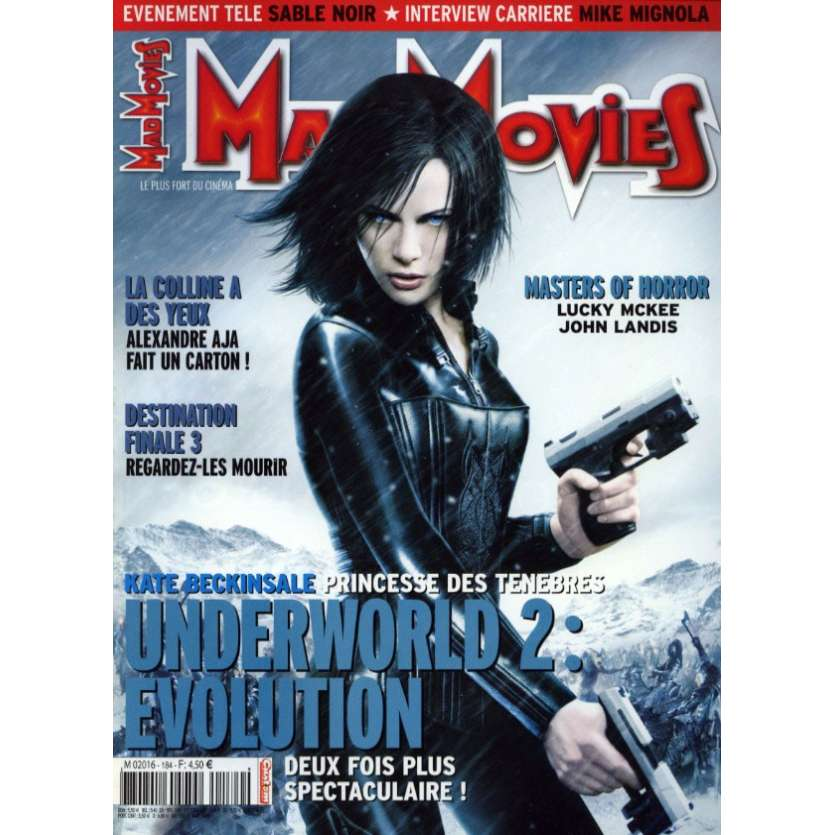 MAD MOVIES N°184 Magazine - 2006 - Underworld 2