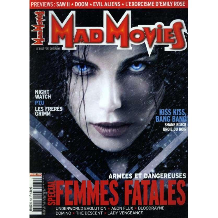 MAD MOVIES N°178 Magazine - 2005 - Femmes Fatales