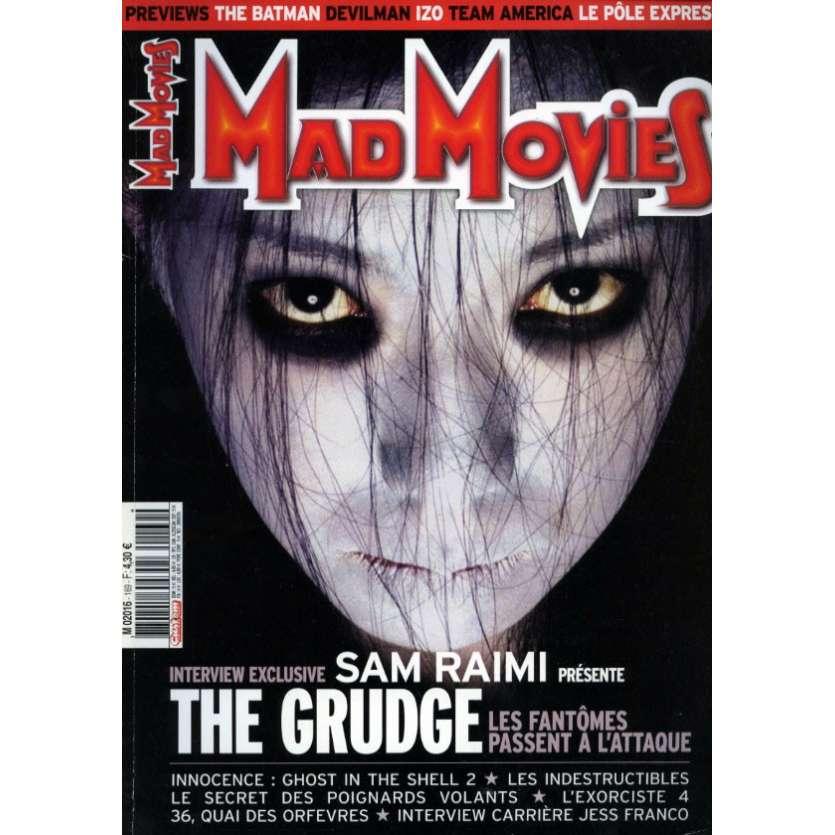 MAD MOVIES N°169 Magazine - 2004 - The Grudge