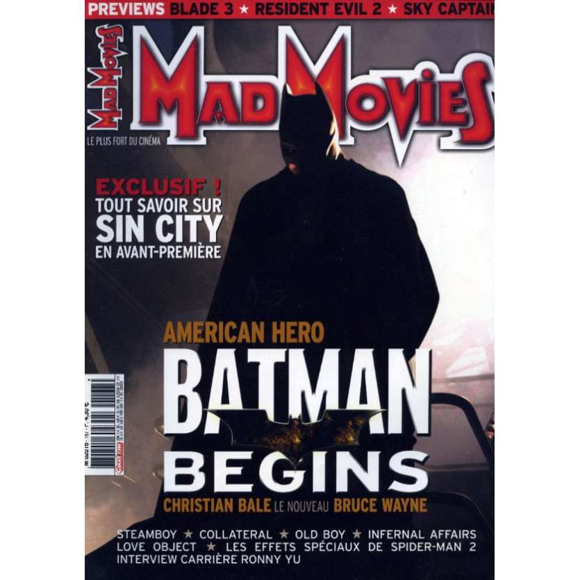 MAD MOVIES N°167 Magazine - 2004 - Batman Begins