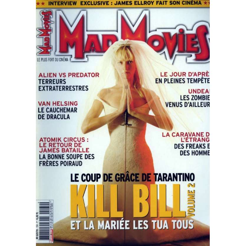 MAD MOVIES N°164 Magazine - 2004 - Kill Bill Vol. 2