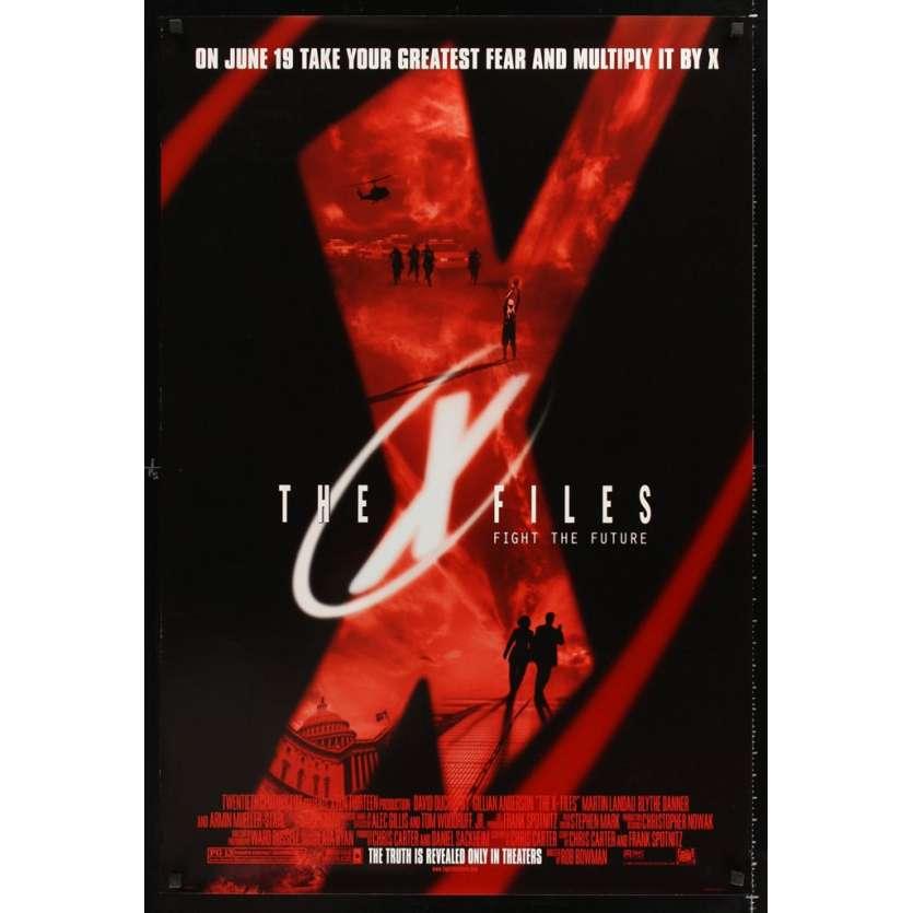 Mauvais-genres.com X-FILES David Duchovny Affiche du film USA 1998 Affiches cinéma