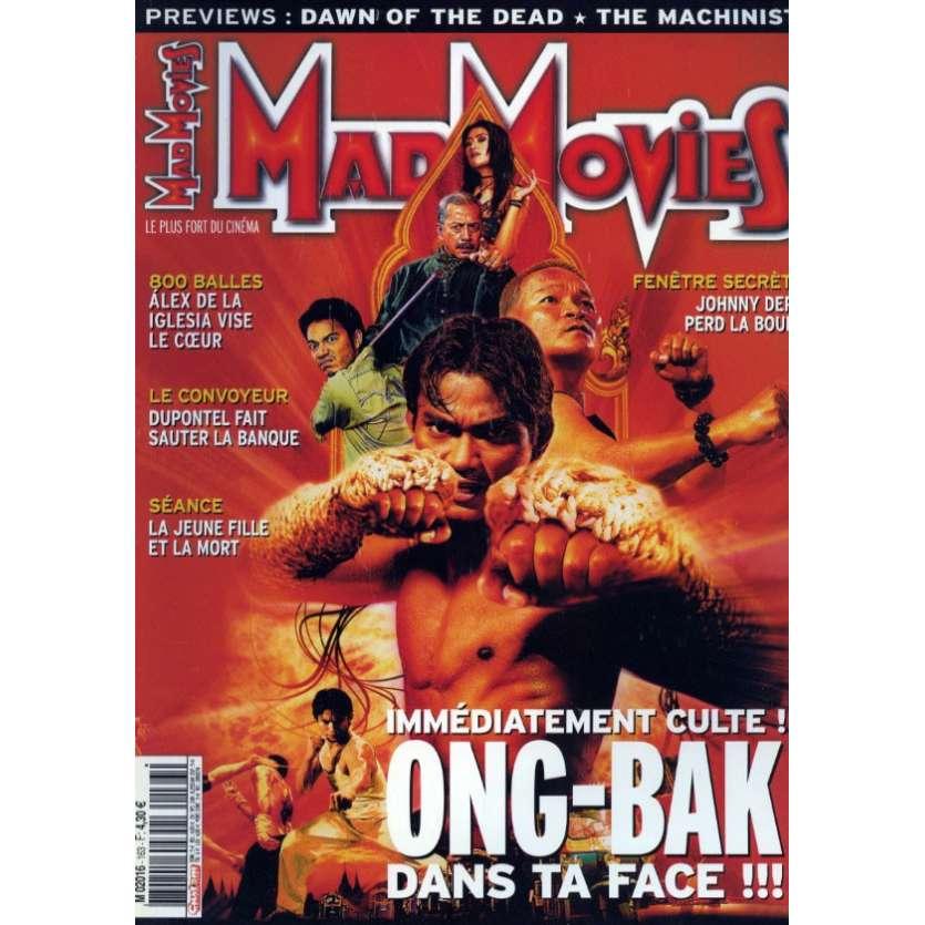 MAD MOVIES N°163 Magazine - 2004 - Ong Bak