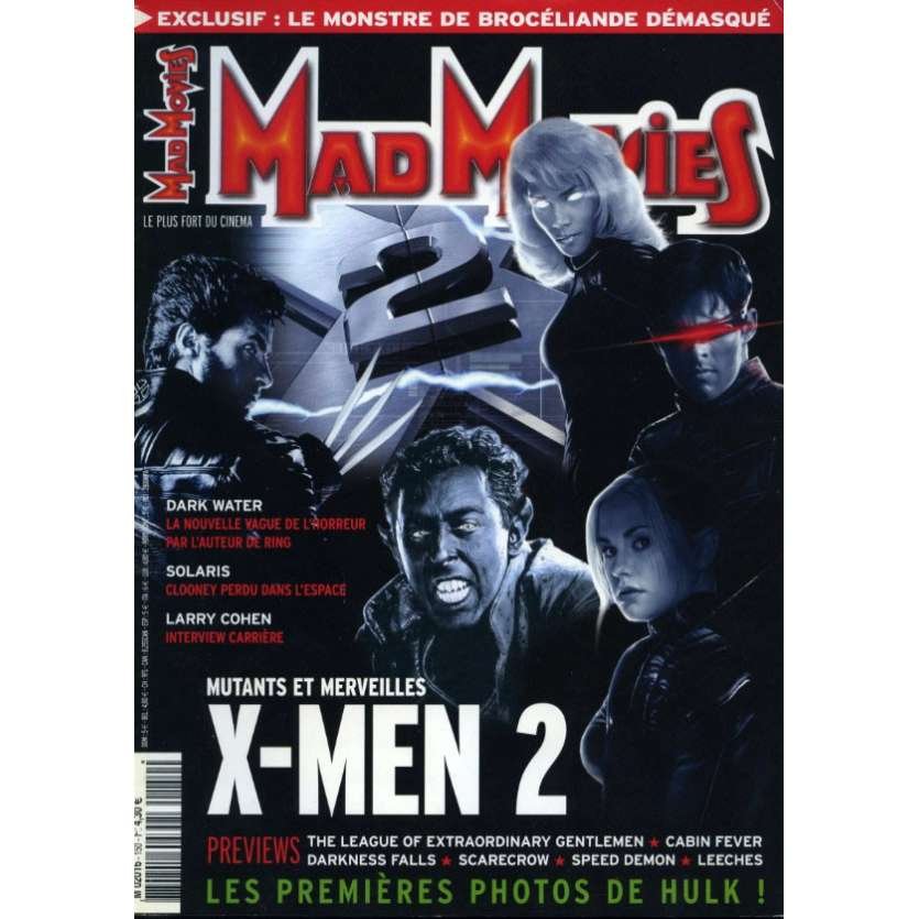 MAD MOVIES N°150 Magazine - 2003 - X-Men 2