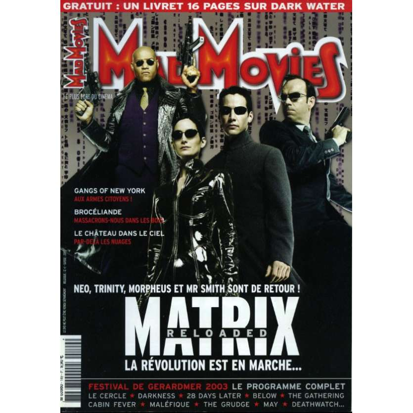 MAD MOVIES N°149 Magazine - 2003 - Matrix Reloaded