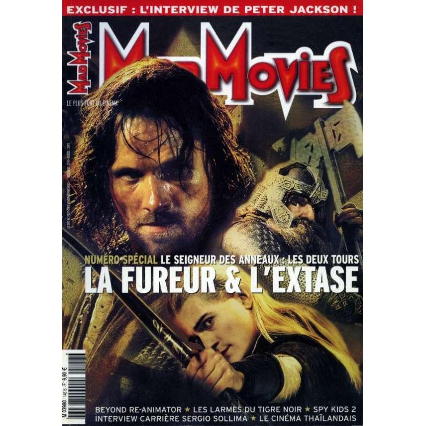 MAD MOVIES N°148 Magazine - 2002 - Les Deux Tours