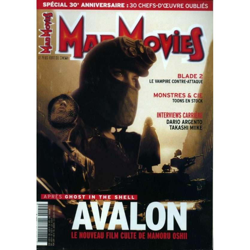 MAD MOVIES N°140 Magazine - 2002 - Avalon
