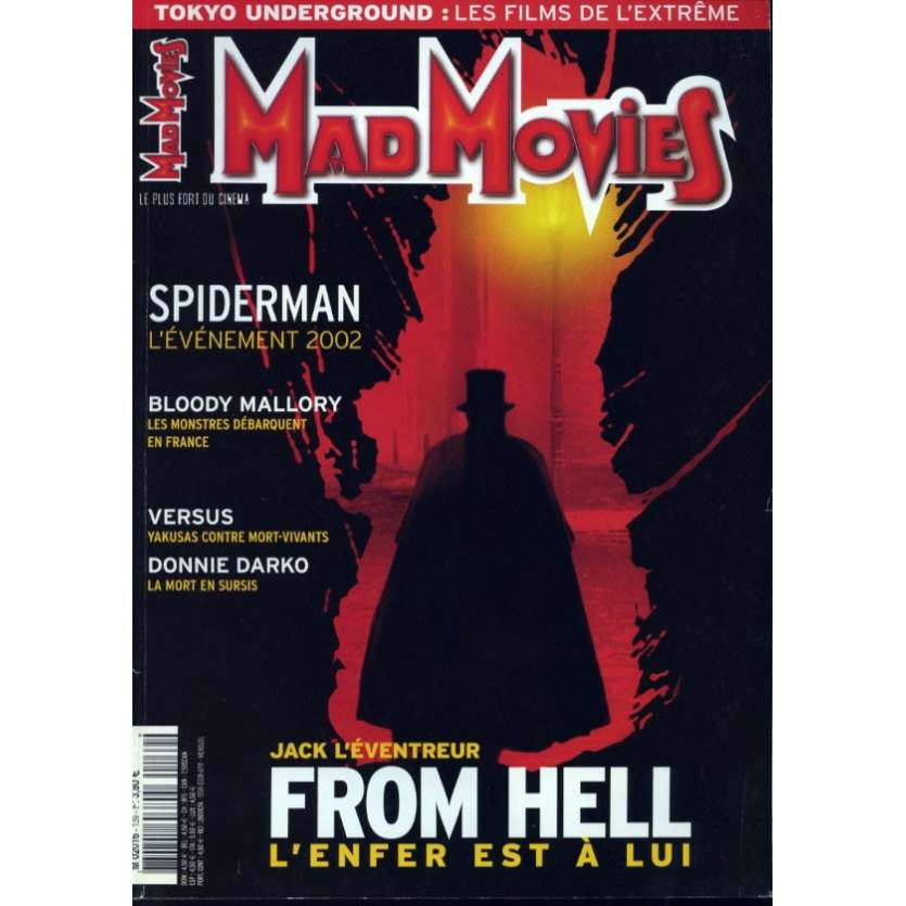 MAD MOVIES N°139 Magazine - 2002 - From Hell