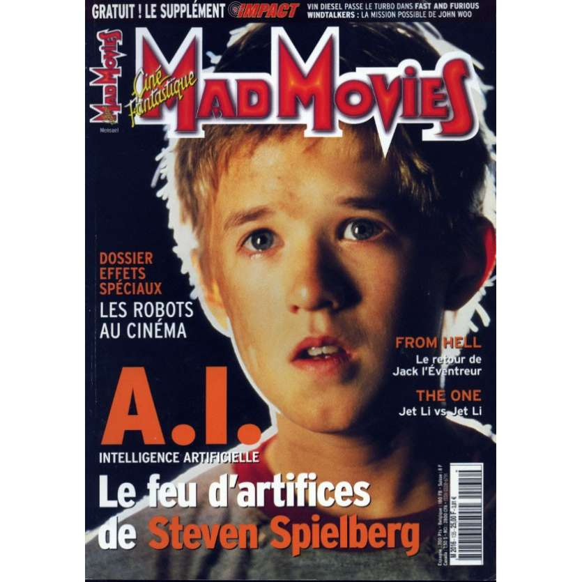 MAD MOVIES N°135 Magazine - 2001 - A.I.