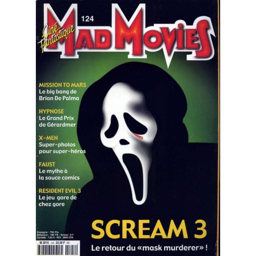 MAD MOVIES N°124 Magazine - 2000 - Scream 3