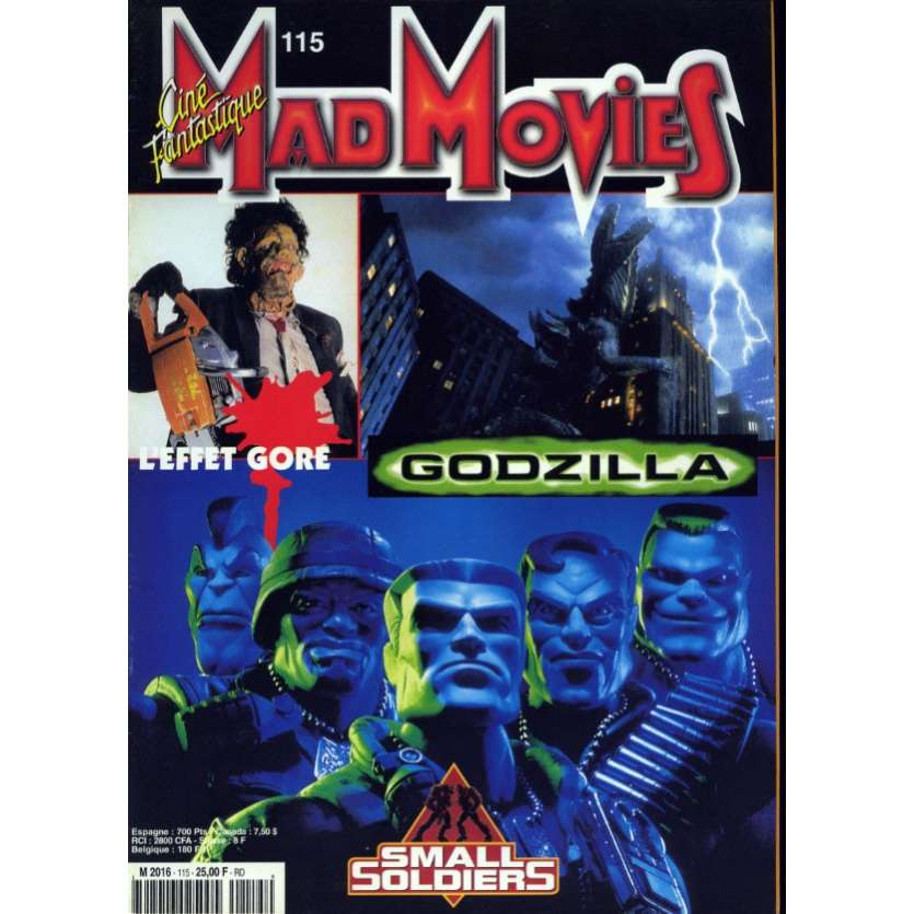 MAD MOVIES N°115 Magazine - 1998 - Small Soldiers
