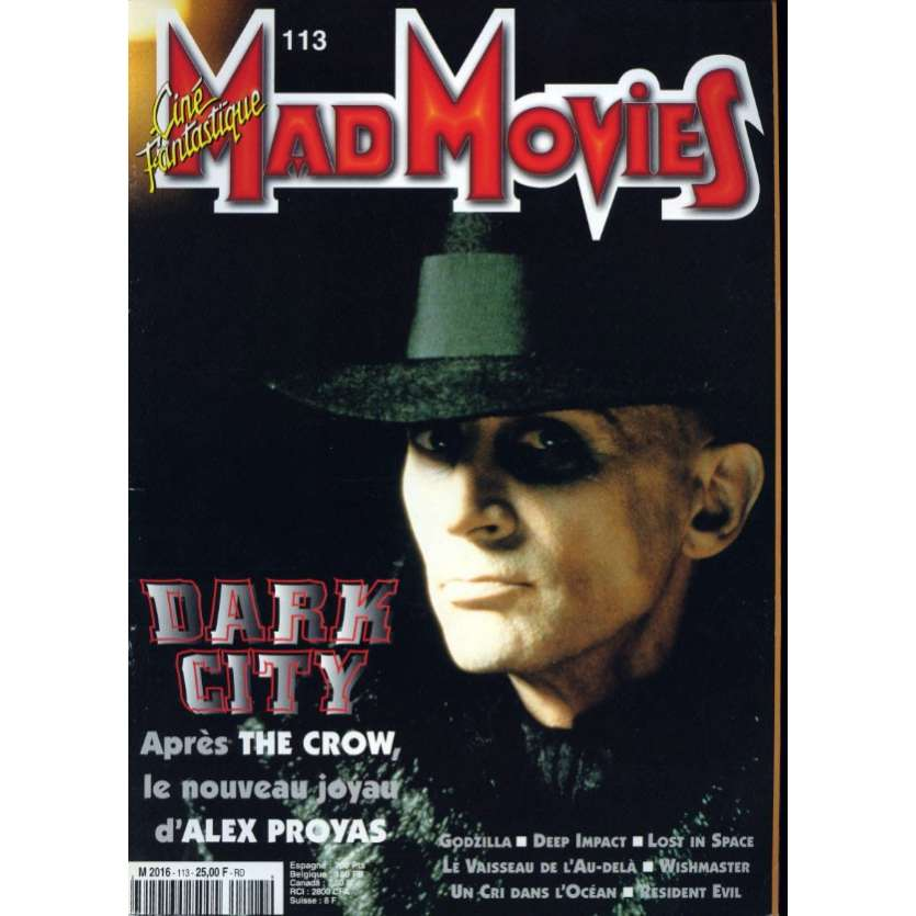 MAD MOVIES N°113 Magazine - 1997 - Dark City