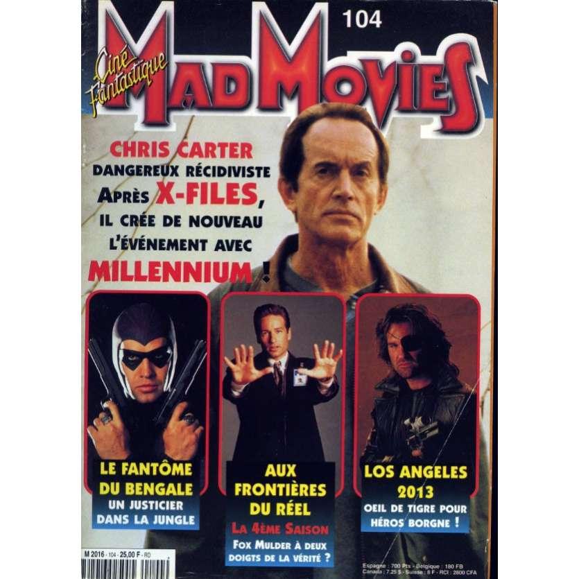 MAD MOVIES N°104 Magazine - 1997 - Millenium