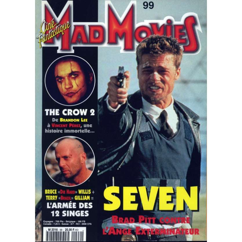MAD MOVIES N°99 Magazine - 1996 - Seven