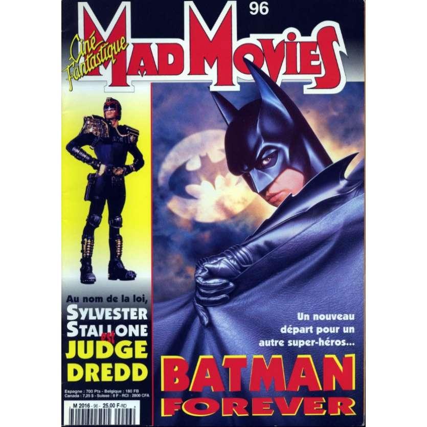 MAD MOVIES N°96 Magazine - 1995 - Batman Forever