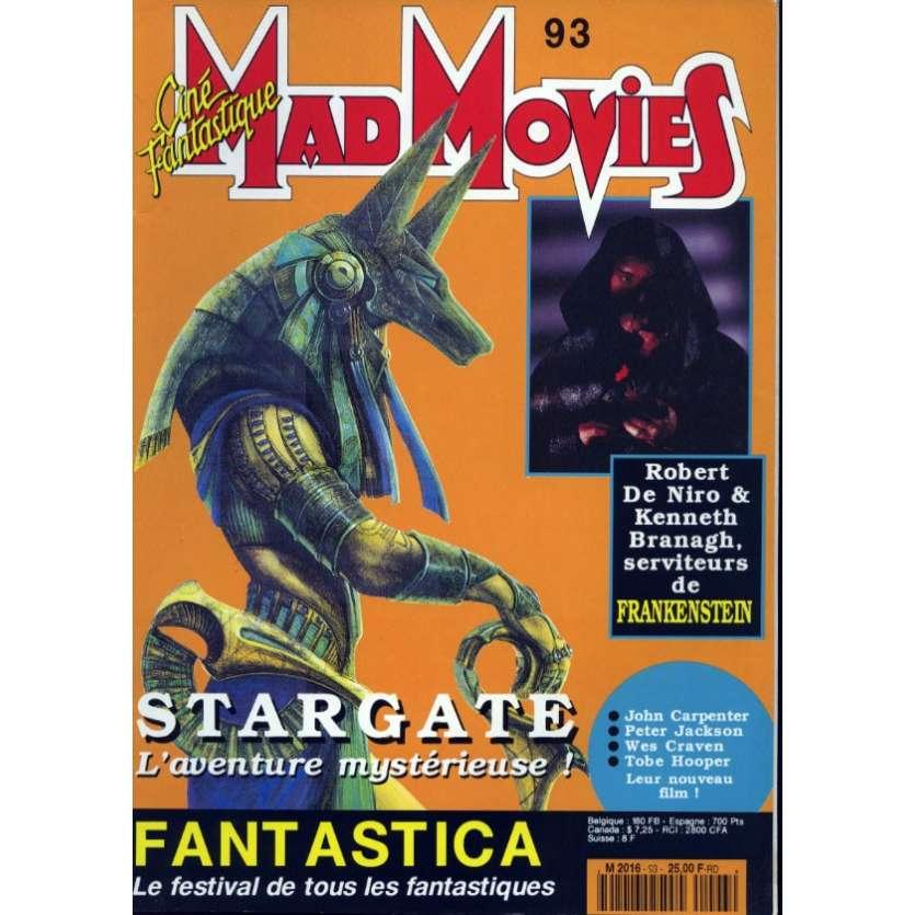 MAD MOVIES N°93 Magazine - 1993 - Stargate