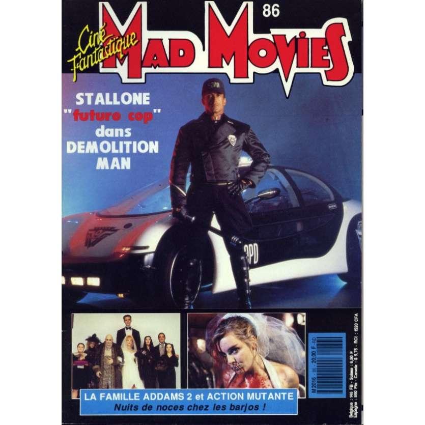 MAD MOVIES N°86 Magazine - 1993 - Demolition Man