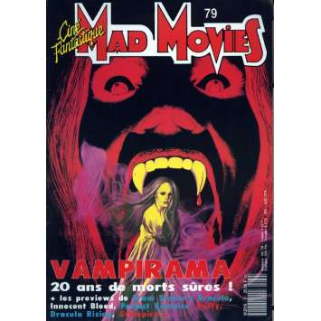 MAD MOVIES N°79 Magazine - 1993 - Spécial Vampires