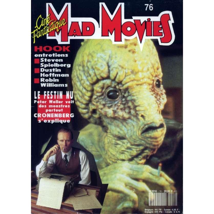MAD MOVIES N°76 Magazine - 1992 - Le Festin Nu
