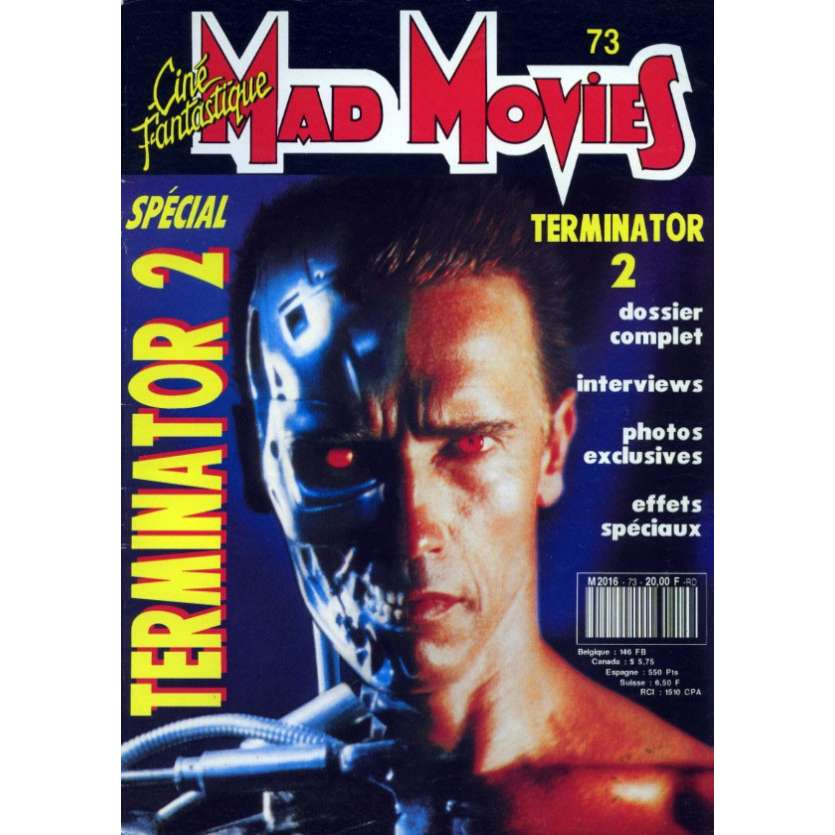 MAD MOVIES N°73 Magazine - 1992 - Predator 2