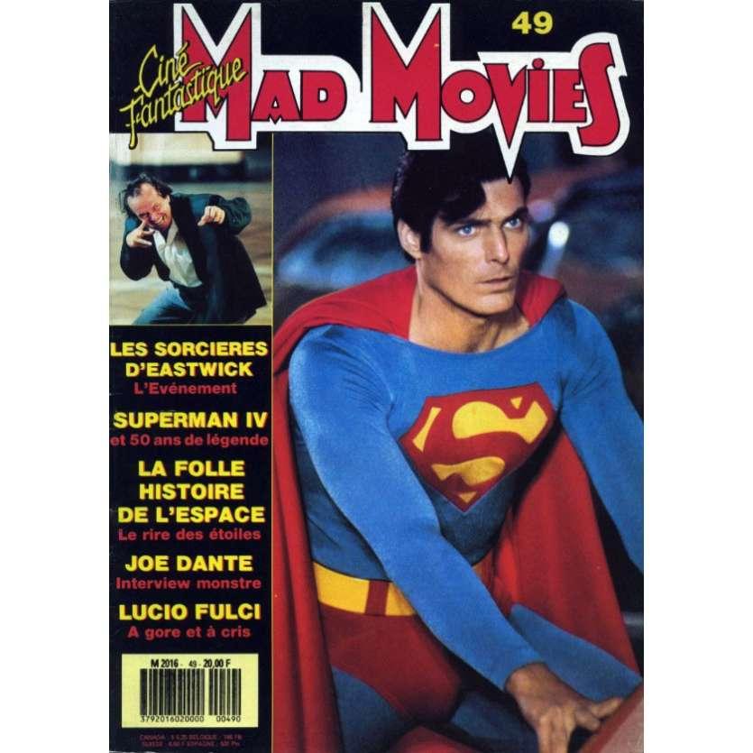 MAD MOVIES N°49 Magazine - 1988 - Superman