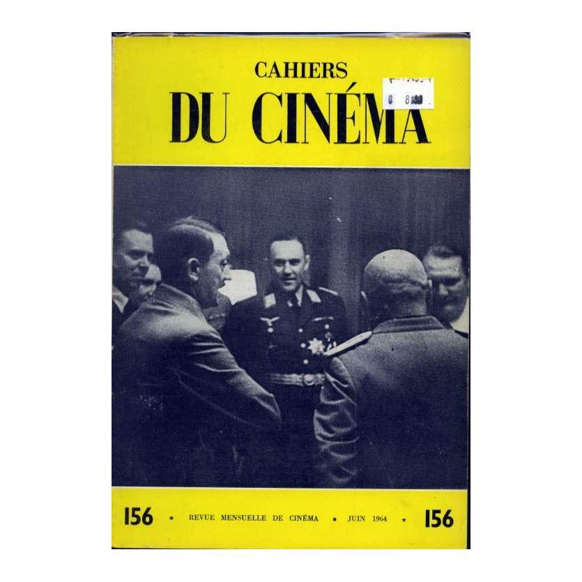 CAHIERS DU CINEMA N°156 Magazine - 1964 - Revue Mensuelle de cinéma