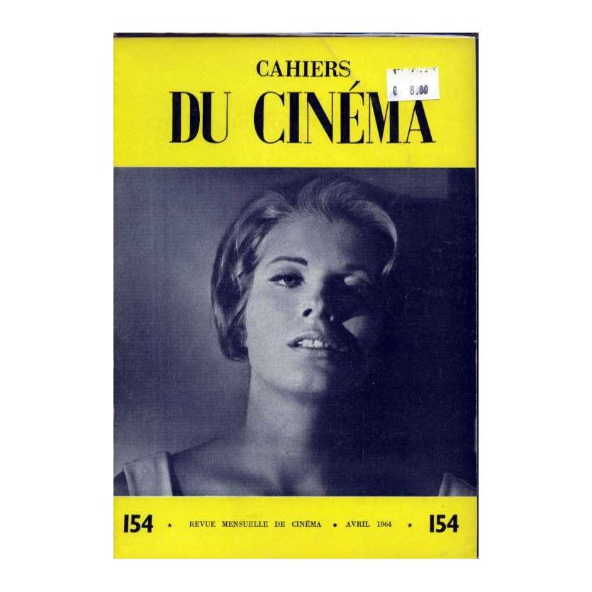 CAHIERS DU CINEMA N°154 Magazine - 1964 - Jean-Louis Trintignant