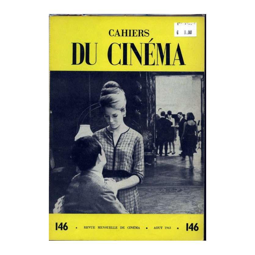 CAHIERS DU CINEMA N°146 Magazine - 1963 - Revue Mensuelle de cinéma