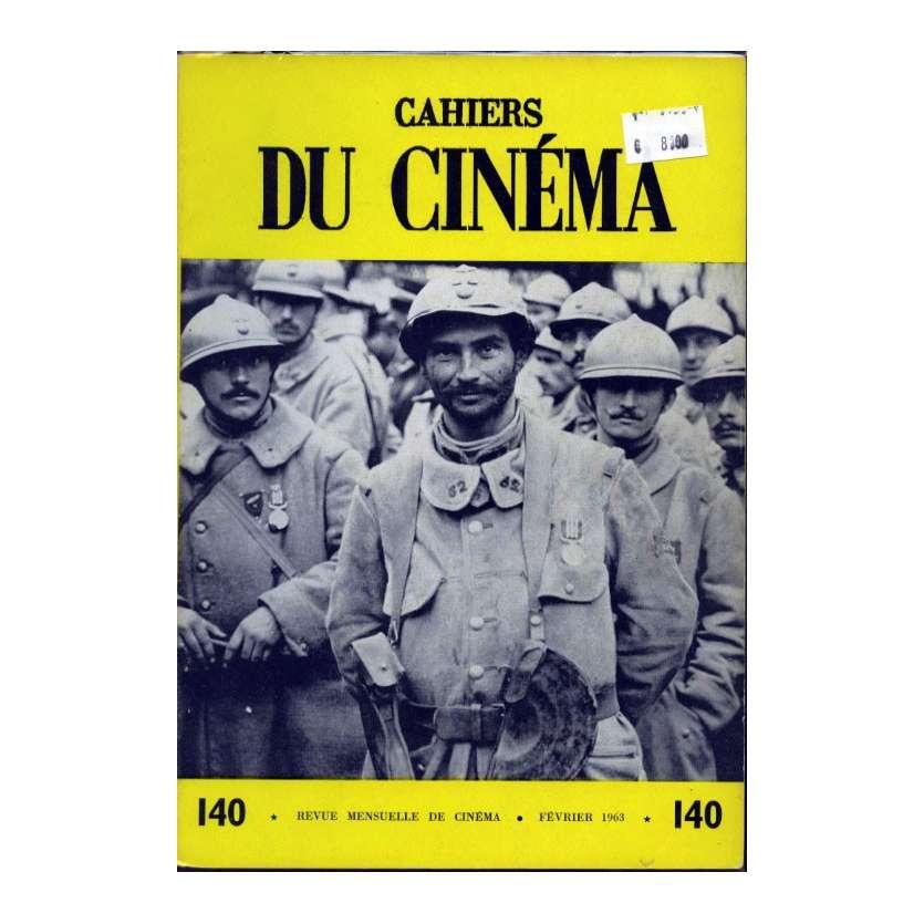 CAHIERS DU CINEMA N°140 Magazine - 1963 - Revue Mensuelle de cinéma