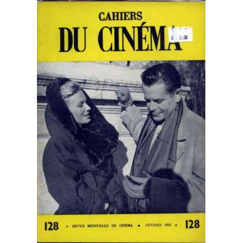 CAHIERS DU CINEMA N°128 Magazine - 1962 - Glen Ford