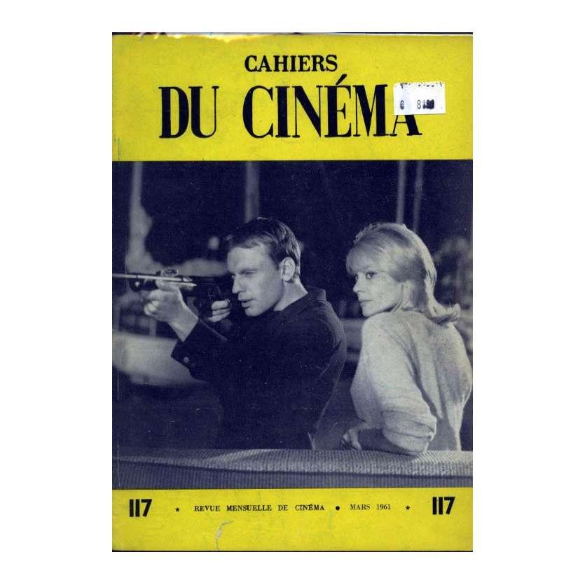 CAHIERS DU CINEMA N°117 Magazine - 1961 - Jean-Louis Trintignant