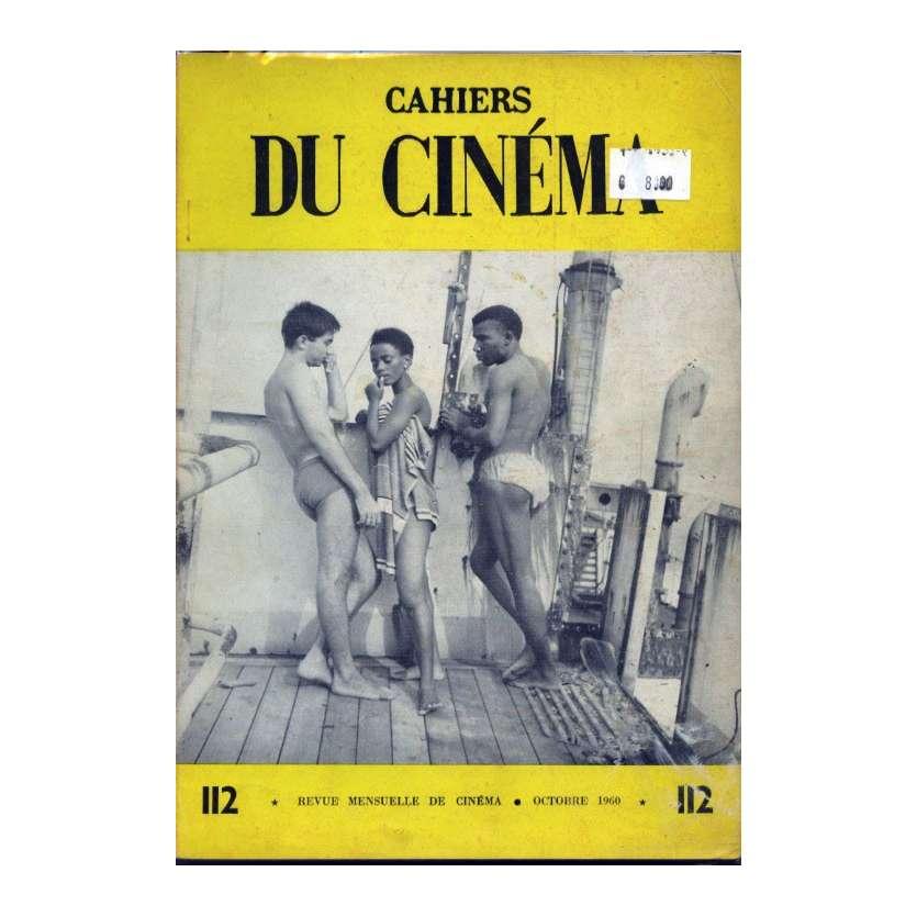 CAHIERS DU CINEMA N°112 Magazine - 1960 - Revue Mensuelle de cinéma