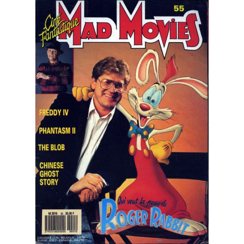 MAD MOVIES N°55 Magazine - 1987 - Invasion Los Angeles