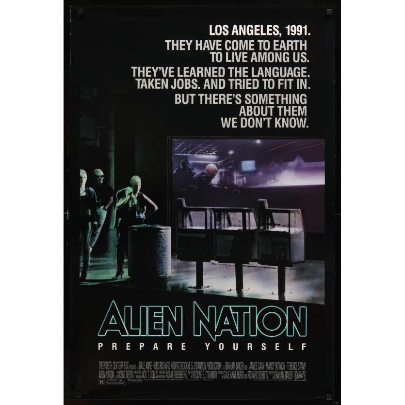 ALIEN NATION US Movie Poster 27x41 - 1988 - Graham Baker, James Caan