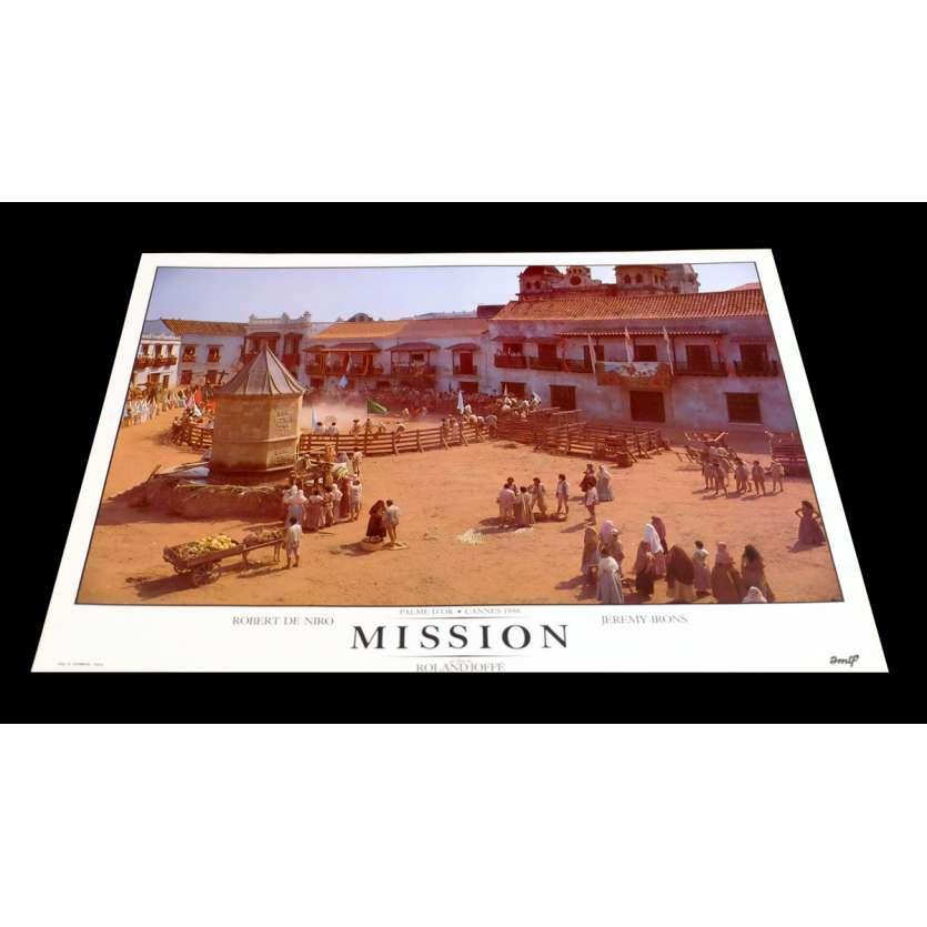 MISSION French DeLuxe Lobby Card 1 11x15 - 1986 - Roland Joffé, Robert de Niro