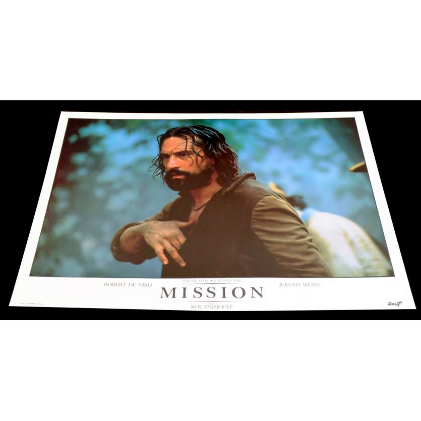 MISSION French DeLuxe Lobby Card 11 11x15 - 1986 - Roland Joffé, Robert de Niro