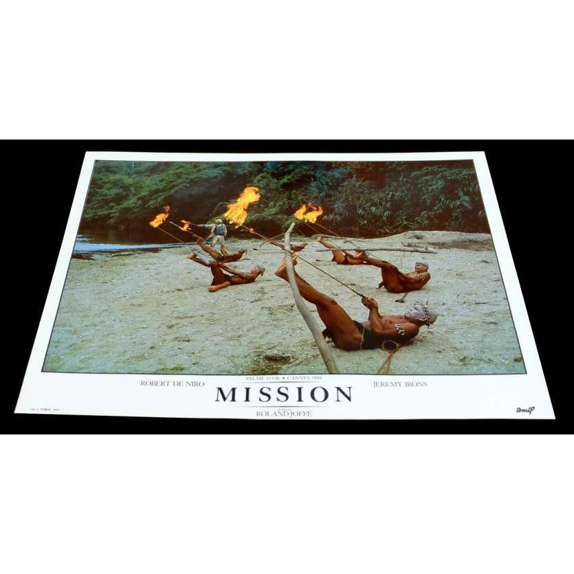 MISSION French DeLuxe Lobby Card 14 11x15 - 1986 - Roland Joffé, Robert de Niro