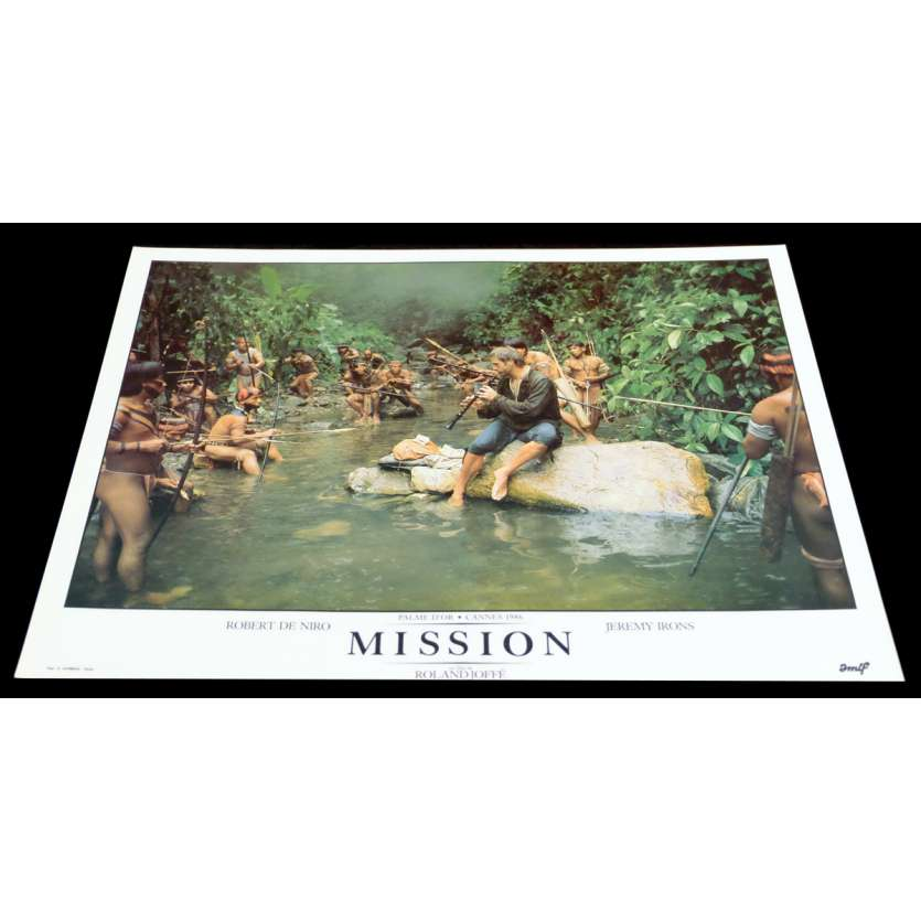 MISSION Photo Luxe 3 30x40 - 1986 - Robert de Niro, Roland Joffé