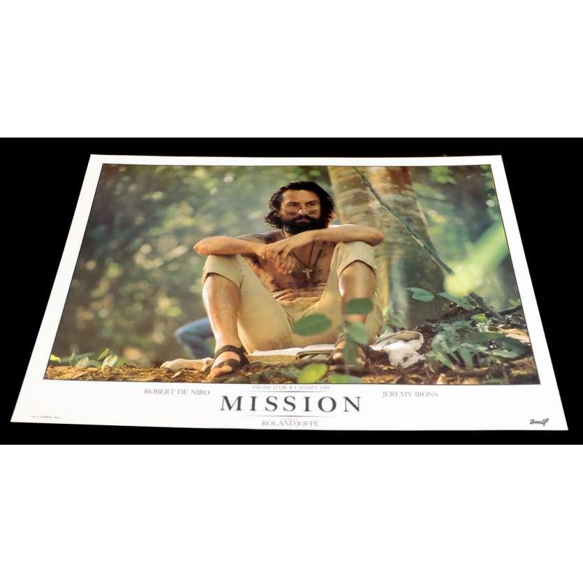 MISSION Photo Luxe 8 30x40 - 1986 - Robert de Niro, Roland Joffé