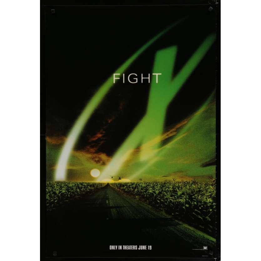 X-FILES US Movie Poster 27x40 - 1998 - Rob Bowman, David Duchovny